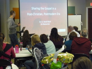 Sharing the Gospel in a Post-Christian, Postmodern Era 1
